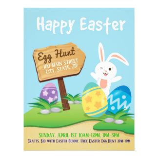 Easter Egg Hunt Event Flyer