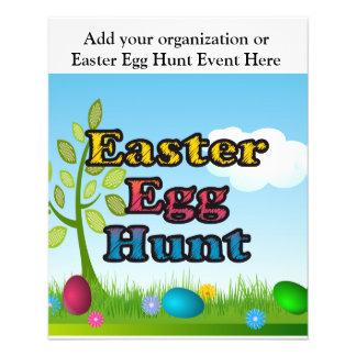 Easter Egg Hunt Custom Flyer