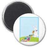 Easter Egg Hunt Fridge Magnet