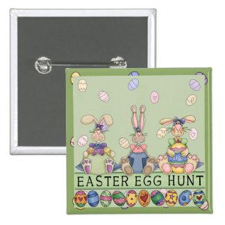 Easter Egg Hunt Friends Button