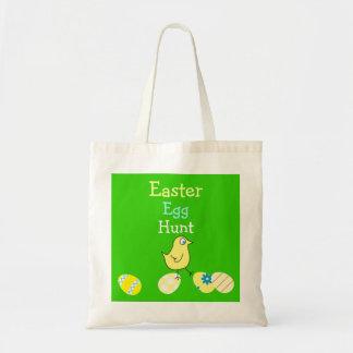 Easter Egg Hunt Funny Chicken and Eggs Bag