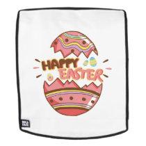 Easter Egg Hunt Happy Easter Cute Kids Women Men Backpack