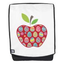 Easter Egg Hunt In Apple Funny Teacher Backpack