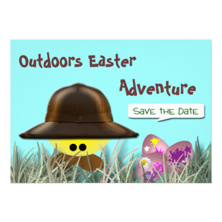 Easter Egg Hunt Personalized Invite