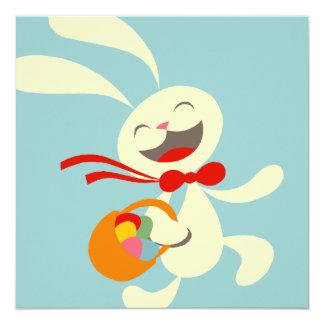 "Easter Egg Hunt Invitation 5.25"" Square Invitation Card"