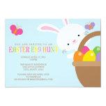 "Easter Egg Hunt Invitation 5"" X 7"" Invitation Card"