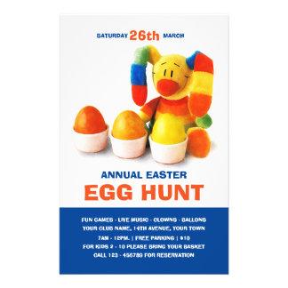 Easter Egg Hunt Invitation Custom Flyers
