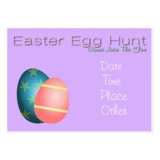 Easter egg hunt invite buisness card business cards