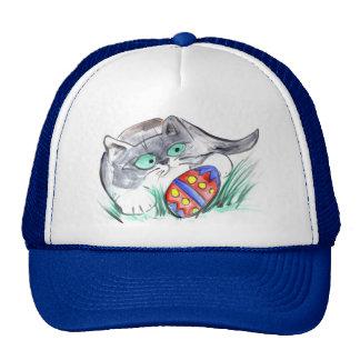 Easter Egg Hunt - Kitten finds an Egg Trucker Hat