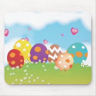 Easter Egg Hunt Mouse Pad