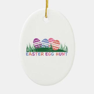 Easter Egg Hunt Christmas Tree Ornaments