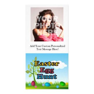 Easter Egg Hunt Custom Photo Card