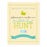 Easter Egg Hunt Postcard Invitation