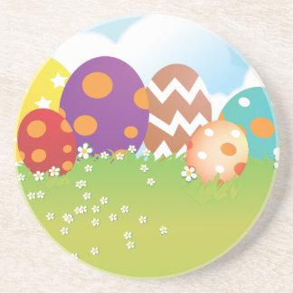 Easter Egg Hunt Sandstone Coaster