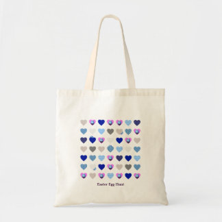 Easter Egg Hunt with Hearts Tote Bag