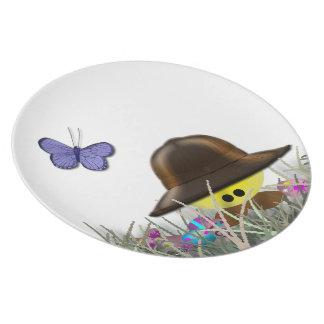 Easter Egg Hunter Plate