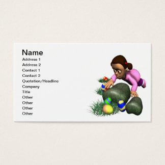 Easter Egg Hunting Business Card