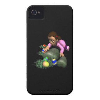 Easter Egg Hunting iPhone 4 Cover