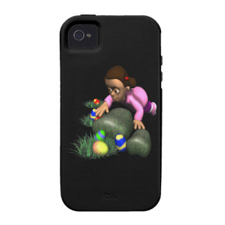 Easter Egg Hunting Vibe iPhone 4 Cover
