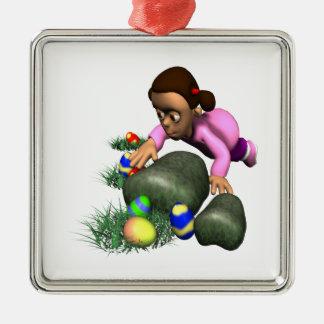 Easter Egg Hunting Ornaments