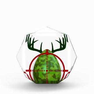 easter egg, I hunt easter deer eggs, funny shooter Acrylic Award