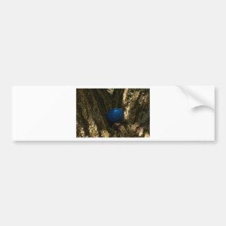 easter egg in a tree for easter egg hunt bumper sticker