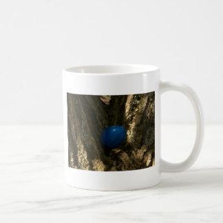 easter egg in a tree for easter egg hunt coffee mug