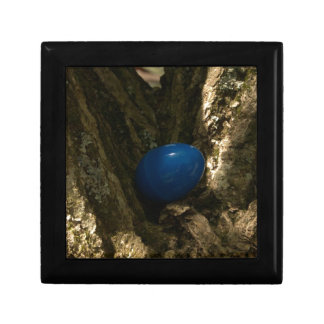 easter egg in a tree for easter egg hunt jewelry box