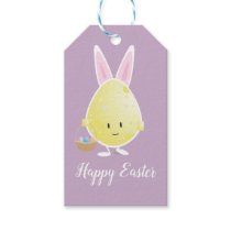 Easter Egg in Bunny Outfit | Gift Tags