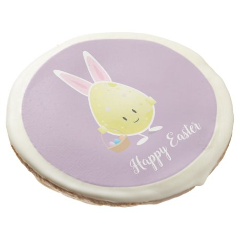 Easter Egg in Bunny Outfit   Sugar Cookies