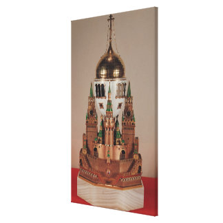 Easter egg in the form of the Uspensky Canvas Print