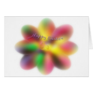 Easter Egg Jelly Bean Wishes Card