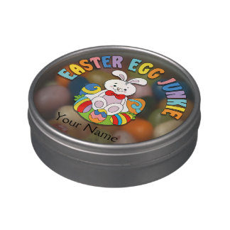 Easter Egg Junkie Jelly Belly Tin