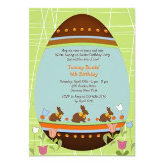 Easter Egg Juvenile Birthday Party Invitation