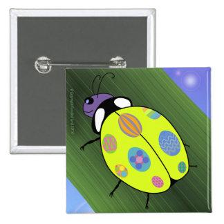 Easter Egg Ladybug Pins