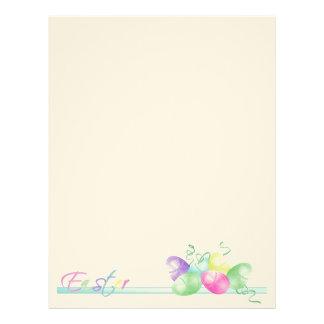 Easter Egg Letterhead