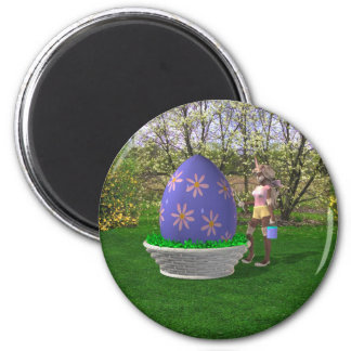 Easter Egg Magnet