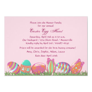Easter Egg March, Holiday Party Invitation