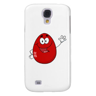 Easter Egg Mascot  Waving A Greeting Samsung Galaxy S4 Cases