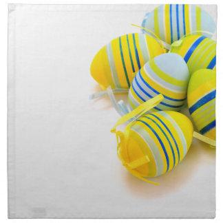 easter egg napkins