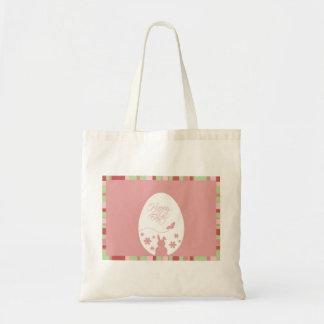 Easter Egg on a Pink Background - Bag