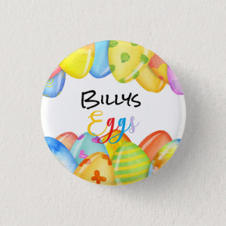 Easter Egg Pastel Button
