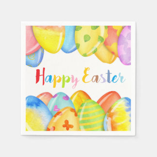 Easter Egg Pastel Napkins