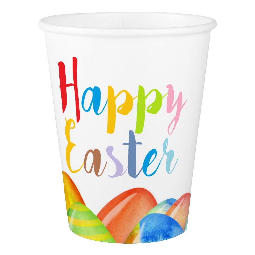 Easter Egg Pastel Paper Cup