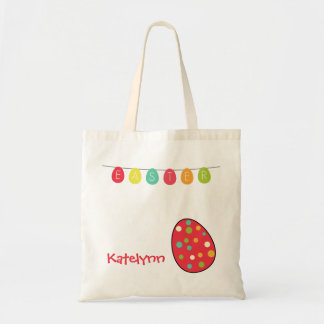 Easter Egg Personalized Custom Tote Bag