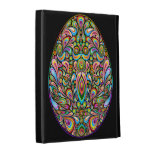 Easter Egg Psychedelic Art Design iPad Folio Cases