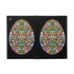 Easter Egg Psychedelic Art Powicase iPad Mini Case