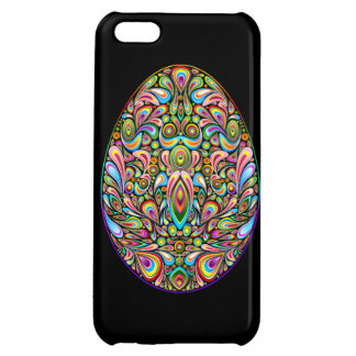Easter Egg Psychedelic Design iPhone 5 Glossy Case iPhone 5C Case