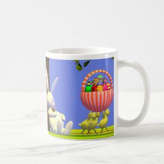 Easter Egg Robbers Classic White Coffee Mug