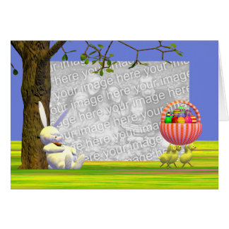 Easter Egg Robbers (photo frame) Card